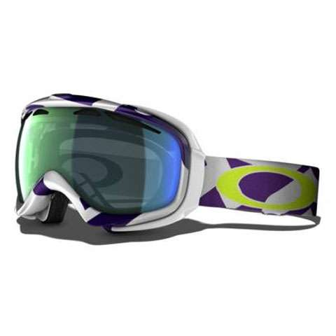 Oakley Elevate Goggles - Factory Slant Purple Emerald Iridium