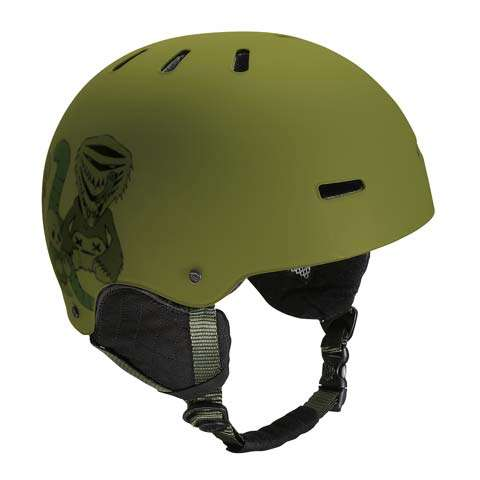 Burton Red Helmet